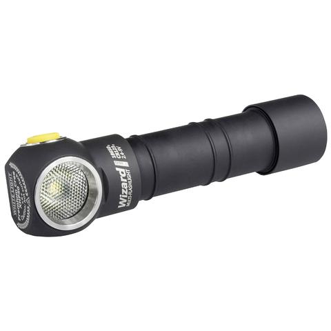 Мультифонарь светодиодный Armytek Wizard Pro v3 Magnet USB+18650, 2150 лм, теплый свет, аккумулятор