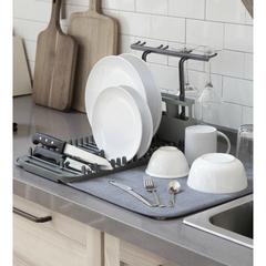 Коврик для сушки посуды UDRY тёмно-серый Umbra 1011484-149