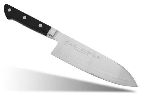 Нож кухонный стальной Сантоку (165мм) Hatamoto Neo HN-SA165