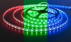 Светодиодная лента 5050 12V 60Led 14,4W IP20 RGB Elektrostandard