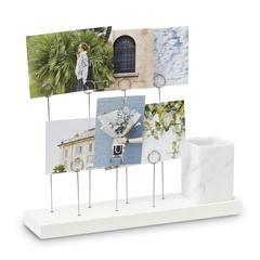 Панно для фотографий GALA белый мрамор Umbra 1004414-660
