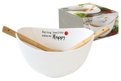 Салатник с ложками Kitchen Elements в подарочной упаковке Easy Life AL-56205