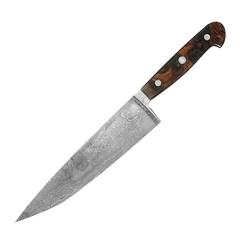 Нож кухонный Шеф 21 см (300 слоев) GUDE Damaskus арт. G-DA-7805/21