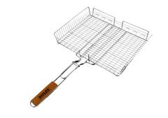 Решетка-гриль 31х24 глубокая Diolex (сталь с хромированным покрытием) DX-G0002
