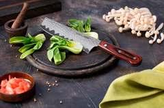 Нож кухонный стальной Накири 167мм Samura KAIJU SKJ-0074/Y