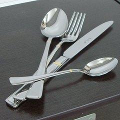 Набор столовых приборов (24 предмета/6 персон) Pinti 1929 Leonardo Gold (подарочная уп.) 0509S091