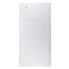 Полотенце банное 140x70 Waves белого цвета Tkano TK18-BT0021