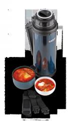 Термос универсальный (для еды и напитков) La Playa Traditional (0,8 литра) синий 560042