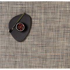 Салфетка подстановочная, жаккардовое плетение, винил, (36х48) Bark (100110-002) CHILEWICH Basketweave арт. 0025-BASK-BARK