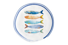 Тарелка закусочная Морской берег без инд.упаковки Easy Life AL-57361