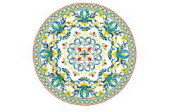 Тарелка закусочная Средиземноморье без инд.упаковки Easy Life AL-57357