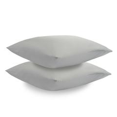 Набор из двух наволочек из сатина светло-серого цвета из коллекции Essential, 50х70 см Tkano TK19-PC0002