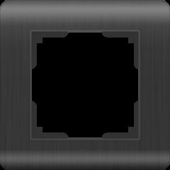 Рамка на 1 пост (графит) WL12-Frame-01 Werkel