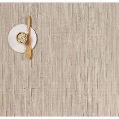 Салфетка подстановочная, жаккардовое плетение, винил, (36х48) Oat (100105-018) CHILEWICH Bamboo арт. 0025-BAMB-OATT