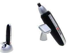 Триммер для носа и ушей Dewal, 2 ножевых блока (от 1 батарейки АА), черный* 03-505