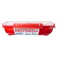 Контейнер низкий 1,3 л Sistema MICROWAVE 1106