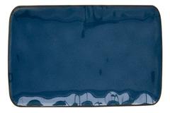 Тарелка прямоугольная большая (синий) Interiors без инд.упаковки Easy Life AL-57441