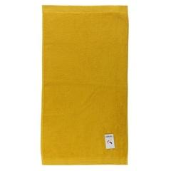 Полотенце банное 140х70 горчичного цвета Tkano TK18-BT0011