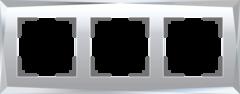 Рамка на 3 поста (зеркальный) WL08-Frame-03 Werkel