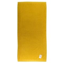 Полотенце банное 150x90 горчичного цвета Tkano TK18-BT0016