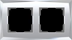 Рамка на 2 поста (зеркальный) WL08-Frame-02 Werkel