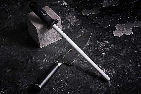Мусат керамический белый Samura S-600/Y