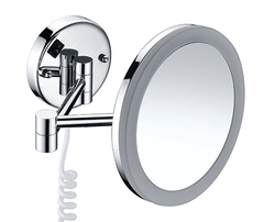 K-1004 Зеркало с LED-подсветкой, 3-х кратным увеличением WasserKRAFT