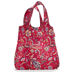 Сумка складная Mini maxi shopper paisley ruby Reisenthel AT3067
