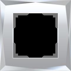 Рамка на 1 пост (зеркальный) WL08-Frame-01 Werkel