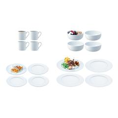 Набор посуды Dine с бортиком 16 предметов LSA P215-02-997