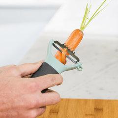 Горизонтальный пилер для чистки овощей (с инструментом для цедры) Leo BergHOFF 3950001