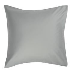 Набор из двух наволочек из сатина светло-серого цвета из коллекции Essential, 70х70 см Tkano TK19-PC0009