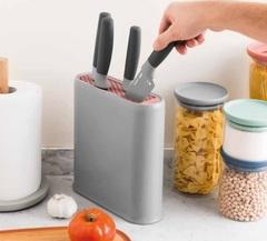 Набор из 5 кухонных ножей и подставки BergHOFF Leo 3950173