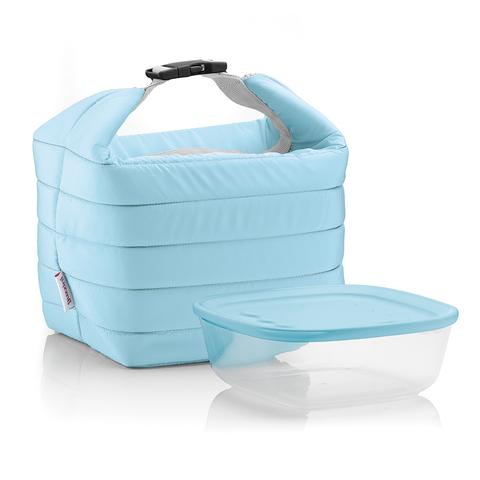 Набор термосумка+контейнер Handy голубой Guzzini 032950134