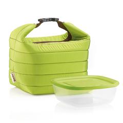 Набор термосумка+контейнер Handy зеленый Guzzini 03295084
