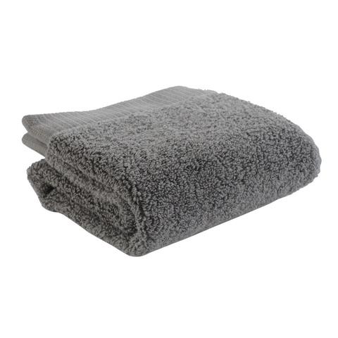 Полотенце для лица 50х30 темно-серого цвета Tkano TK18-BT0002