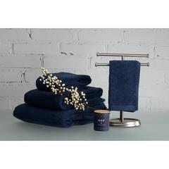 Полотенце для лица 50х30 темно-синего цвета Tkano TK18-BT0003