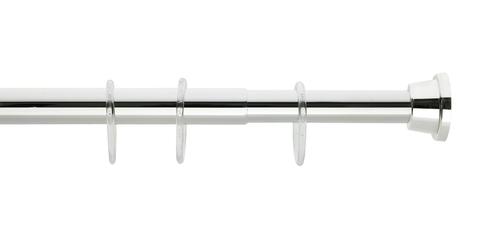 Карниз для ванной комнаты Grekon 120-220 cм 1210-220CR