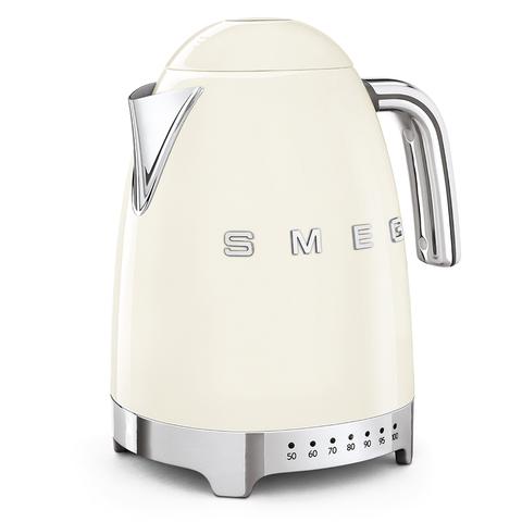 Чайник электрический с регулируемой температурой Smeg (Кремовый) KLF04CREU