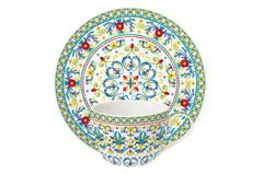 Чашка с блюдцем Средиземноморье без инд.упаковки Easy Life AL-57353