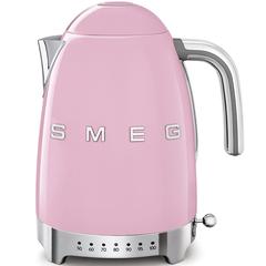 Чайник электрический с регулируемой температурой Smeg (Розовый) KLF04PKEU
