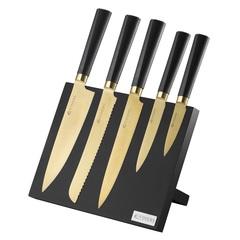 Набор из 5 ножей и подставки Titan Gold Viners v_0305.140