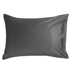 Набор из двух наволочек из сатина темно-серого цвета из коллекции Wild, 50х70 см Tkano TK20-PC0011