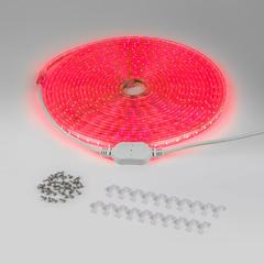 Комплект светодиодной ленты красной 10 м 4,4 Вт/м 60 LED 3528 IP65 LSTR001 220V 4,4W IP65 Elektrostandard