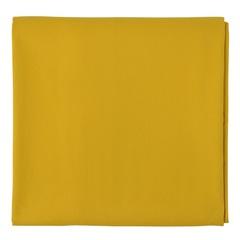 Скатерть из хлопка горчичного цвета из коллекции Prairie, 170х170 см Tkano TK20-TC0002