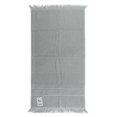 Полотенце для рук 90х50 декоративное с бахромой серого цвета Tkano TK18-BT0027