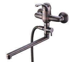 Isar 1302L Смеситель для ванны с длинным изливом WasserKRAFT Серия Isar 1300