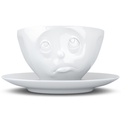 Чайная пара Tassen Oh please 200 мл белая T01.44.01