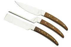 Набор ножей для сыра Legnoart, серия CASEUS 3 шт