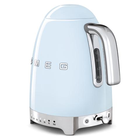 Чайник электрический с регулируемой температурой Smeg (Пастельный голубой) KLF04PBEU